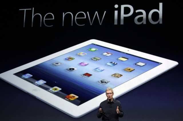 Apple latest tablet, New iPad on its launch weekend already sold 3 million units, and the pre order is sold out, but apparently it has dropped dramatically. According to reports from Want China Times, Foxconn employees reported that the New iPad production rate dropped dramatically.: Apples Ipad, Retina Display, 4G Mobiles, Tim Cooking, Jailbreak Ipad, Tech Stuff, Mobiles Technology, Ipad Technology, Mobiles Phones
