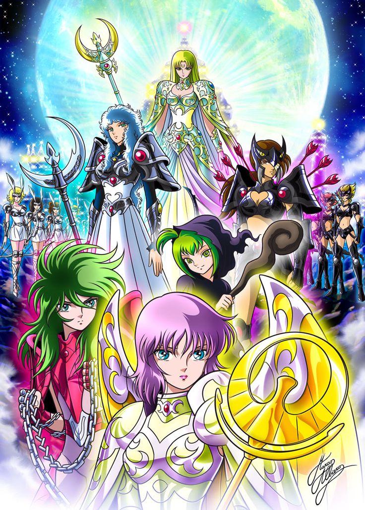 Poster de Saint Seiya Next Dimension hecho por Marco Albiero