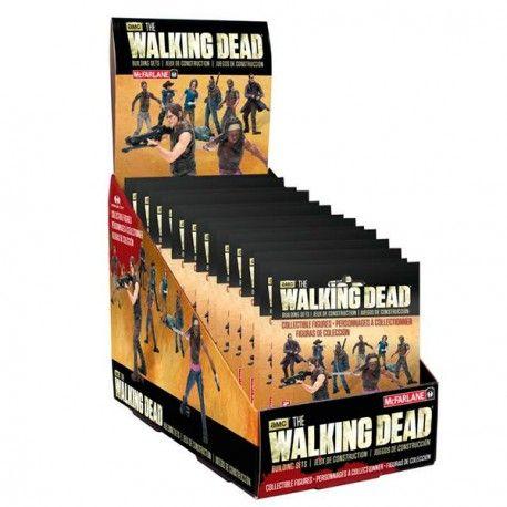 Minifiguras #TheWalkingDead surtidas. 24 personajes disponibles. Precio unidad: 3,42€.