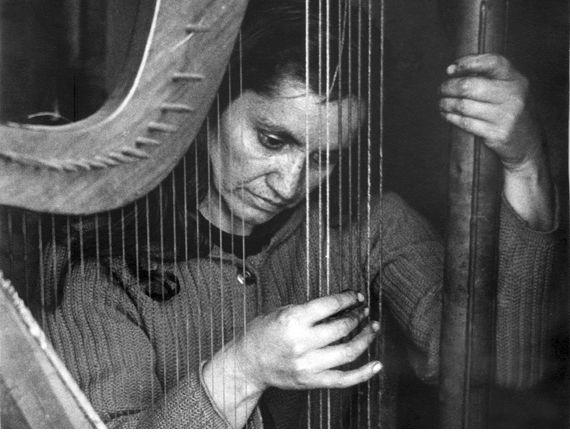 Violeta Parra (foto de Fernando Krahn, 1965)