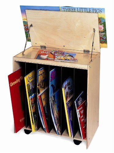 Big Book Storage with Marker-Board Back by Whitney Brothers. $178.06. Includes 6 book compartments and write & wipe board. 26 in. W x 24 in. H x 15 in. D. wb6255 Features: -Marker-board back.-Stores large books.-Saves space. Dimensions: -Overall Dimensions: 26'' H x 24'' W x 15'' D.. Save 25%!