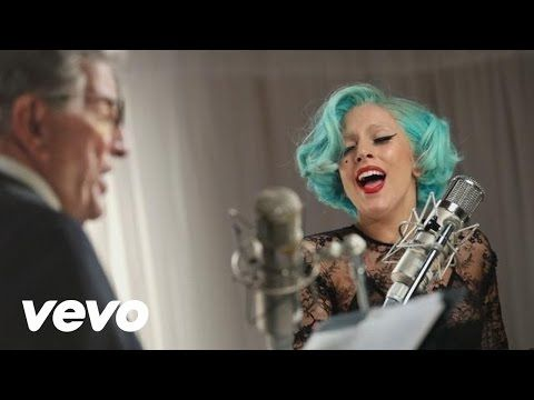 Tony Bennett, Lady Gaga - The Lady is a Tramp - YouTube