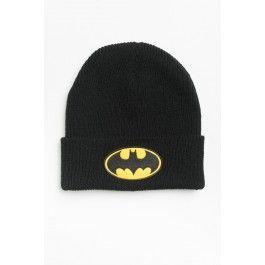 Black Batman beanie with logo