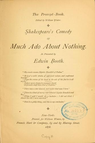 a look at the comedies of william shakespeare in a midsummer nights dream and much ado about nothing Buy william shakespeare's a midsummer night's dream: much ado about nothing a midsummer night's dream is one of mine favorite shakespeare comedic plays.