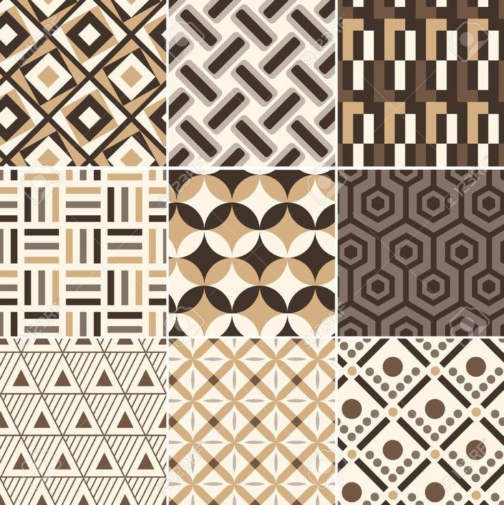 원활한 골드 기하학적 복고풍 패턴 로열티 무료 사진, 그림, 이미지 그리고 스톡포토그래피. Image 17969108.