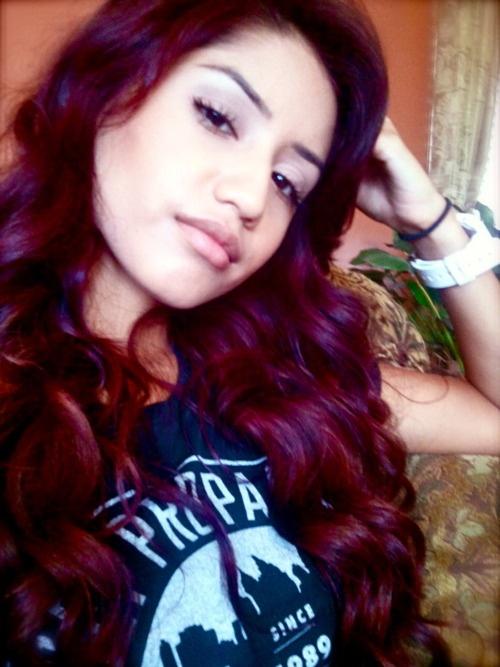 31 Best Images About Magenta Red Hair Purpura On Pinterest  Crimson Hair Bu