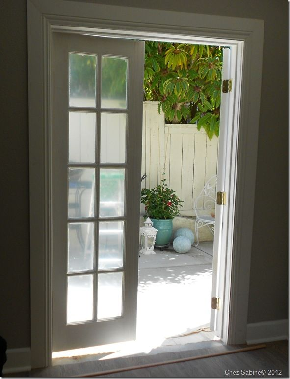 Turning A Window Into French Doors Installing French