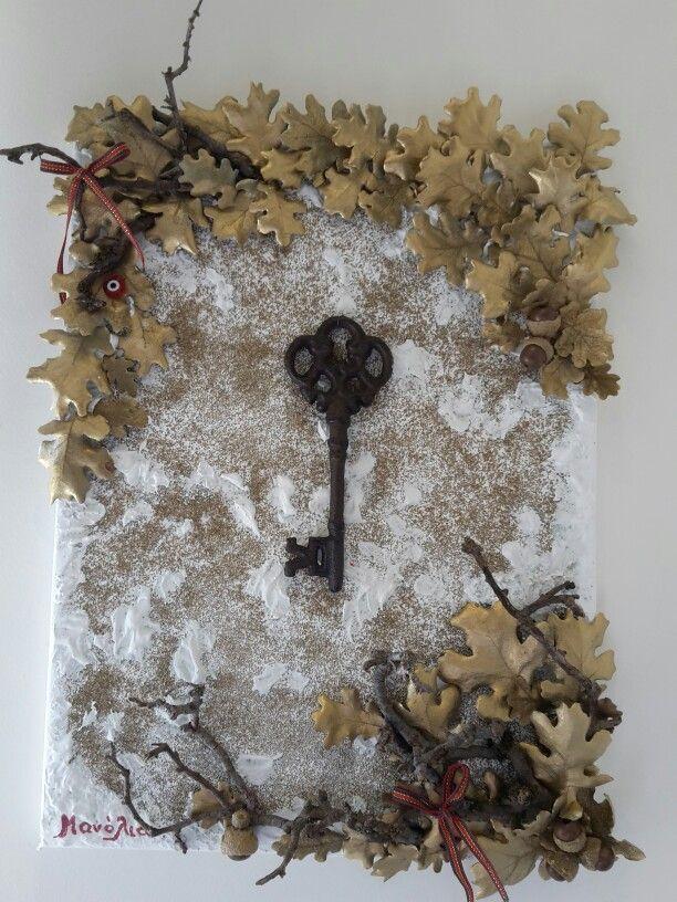 Το κλειδί. ..για τα καλορίζικα του νέου σπιτιου