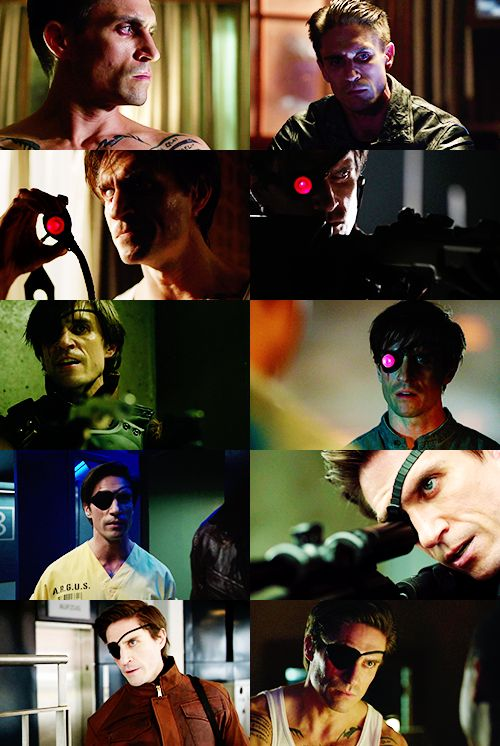 Arrow - Floyd Lawton / Deadshot-Is it sad that I absolutely love him? Yes? Oh well.