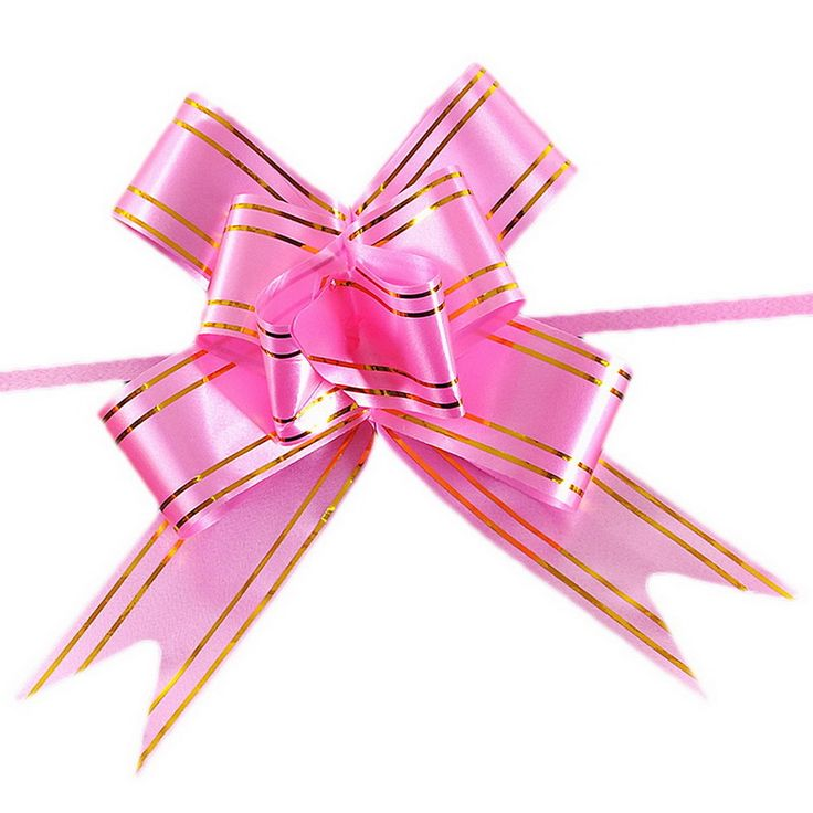 10pcs/lot Gift Ribbon birthday wedding Festival Party decoration Packing Pull Bow Ribbon Flower Accessoriess #Affiliate