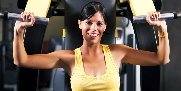 """Make the most out of your gym visits. The following beginner gym arm workout mixes cardio and weight training with an emphasis on the arms. Get strong, toned arm muscles with my """"Fit to be …"""