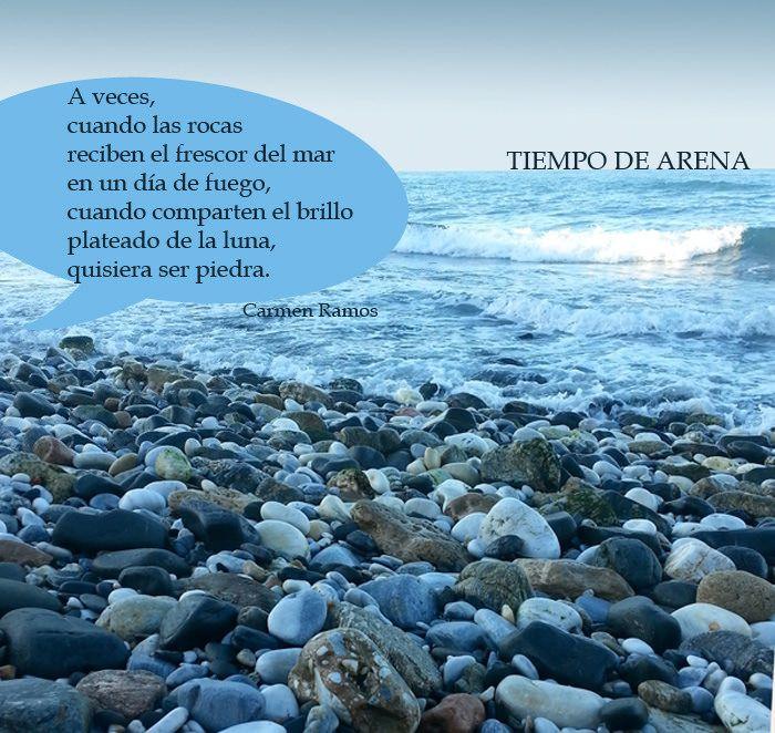 https://flic.kr/p/y81wvX | Quisiera ser piedra, quisiera. | A veces la poesía quisiera ser poeta.  Poema visual de Carmen Ramos y Antonio Santana.