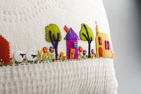 Wee Village Farm Cushion Kit