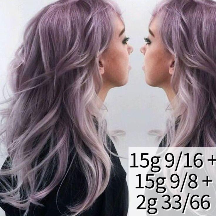 Wella dusty violet color formula – #color #dusty #…