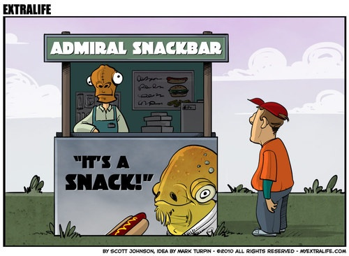 """""""It's a snack!"""""""