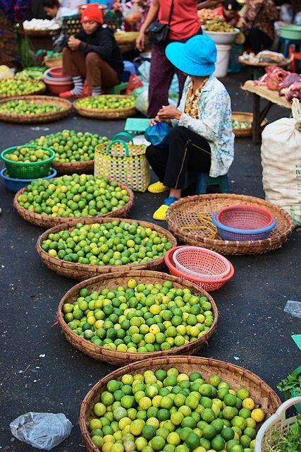 A market in Phnom Penh #Cambodia