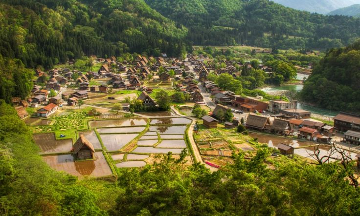 20gorgeous real-life villages which came straight out offairytales Shirakawa-go, Japan