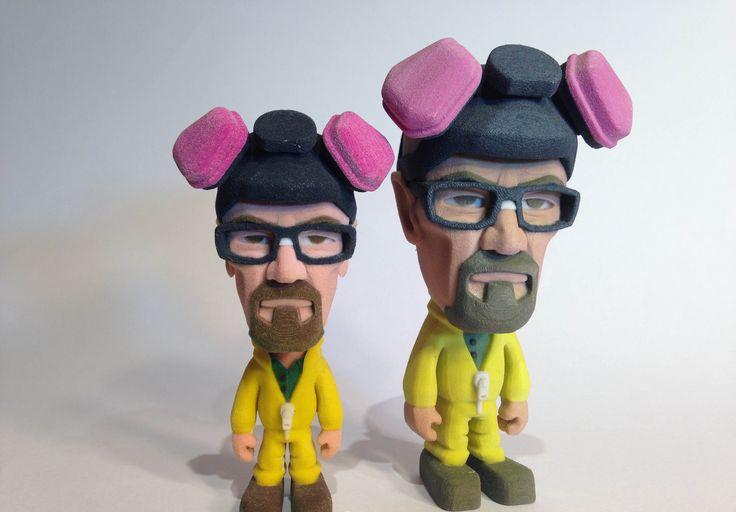 #3DPrinted Breaking Bad #Figurine.   #3DPrinting #Customized