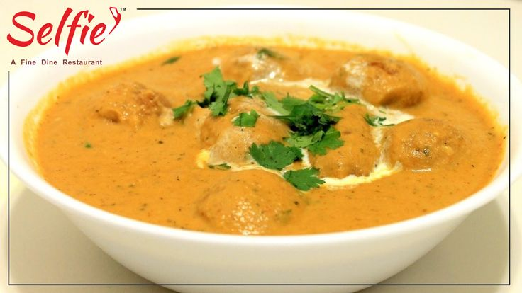 Cashew nuts and raisins stuffed soft malai kofta and that to with cashew nuts, curd and cream gravy sound too delicious. You would love eating it even if you don't feel hungry. Whenever you have a special occasion at your place make this mughlai malai kofta curry and surely everybody will find it tasty.  #kanhaiyalalhalwai #SelfieRestaurant.#delicious #food #sweet #gulabjamun #rasgulla #jalebi #kajukatli #bengalimithai #kesarbarfi #rajbhog #rasmali #motichurladdu #besanladdu #rabri #kachori…