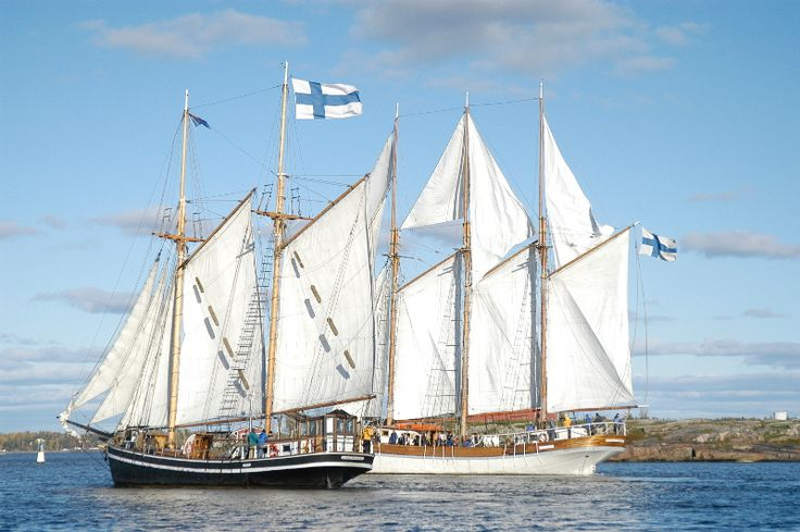 Postcard? No, it's a real sailing ship taking you to the island of Örö in the Finnish Archipelago. The island was opened for public last summer. This summer Johan Stenbäck will take clients to the island every July Tuesday and on Saturdays 30th of July and 6th of August by his galeas Inga. The price is 55€/person (children under 12yrs 28€/person) including soup lunch, sailing tour as well as guided walks with history and nature focus.