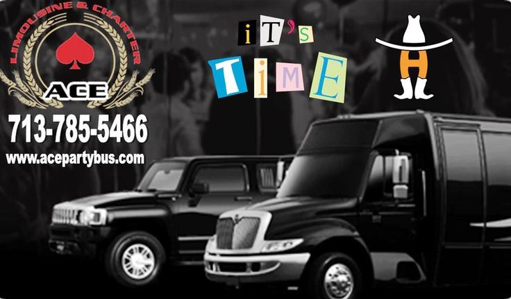 ACE Party Bus would like to remind you that the Houston Livestock Show and Rodeo, February 27 - March 18 at the NRG Park. ...  We know parking can be a drag, opt for safe and reliable transportation to the Rodeo or Rodeo Cook-Off with ACE Party Bus, we will drop off and pick up in the lot delegated for Limo services.  CALL 713-223-5466 or visit acelimo.org  Ask About Our Special Rodeo Pricing!  #HoustonRodeo #HoustonLimousine #LimousineRental #Rodeo #TheWoodlands #Spring #Tomball #Cypress…