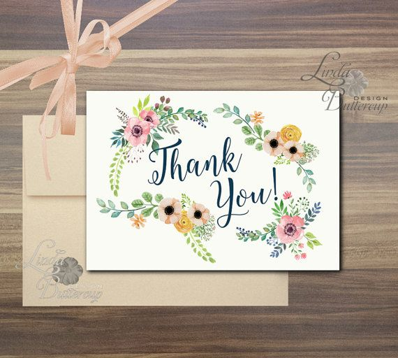 Thank You Card, Will You Be My Bridesmaid card, Rustic wedding card, Boheme, Bohemian, Floral Wedding Card, floral Thank you card, nature
