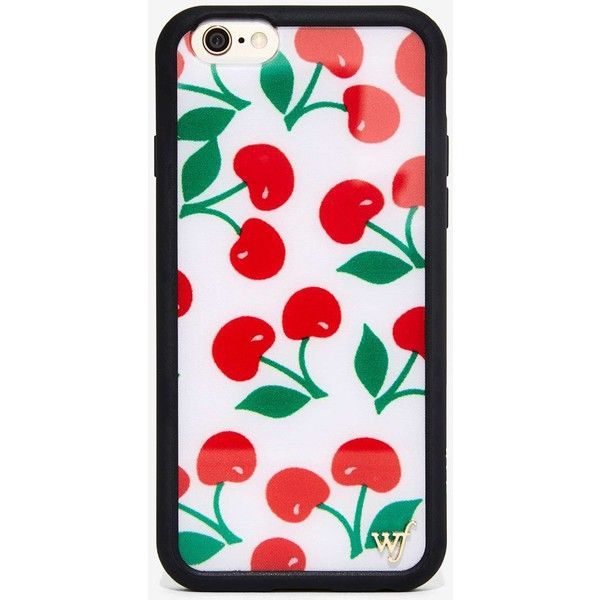 Wildflower Cherry Bomb iPhone 6 Case ($23) ❤ liked on Polyvore featuring accessories, tech accessories, iphone cases, phone, red, red iphone case, iphone case, apple iphone cases and iphone cover case