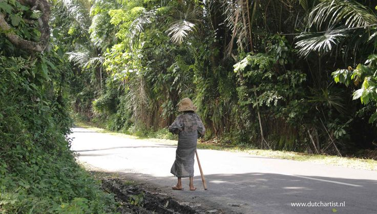Balinese old woman in my city Ubud Bali . look in my map photos for sale.