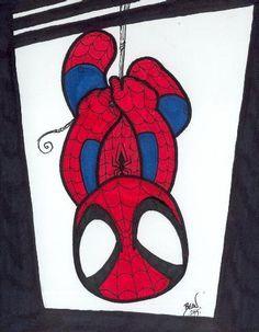 Resultado de imagen para hombre araña bebe caricatura