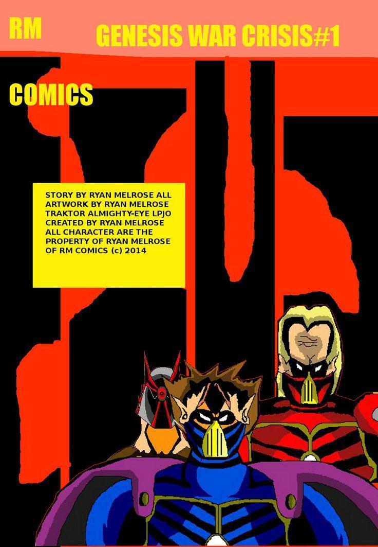 Genesis War Crisis #1 full comic