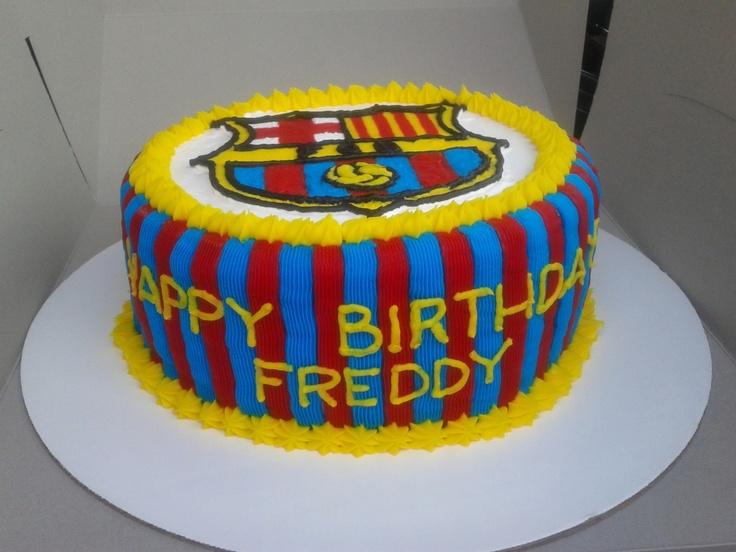 Barcelona Cake Ideas