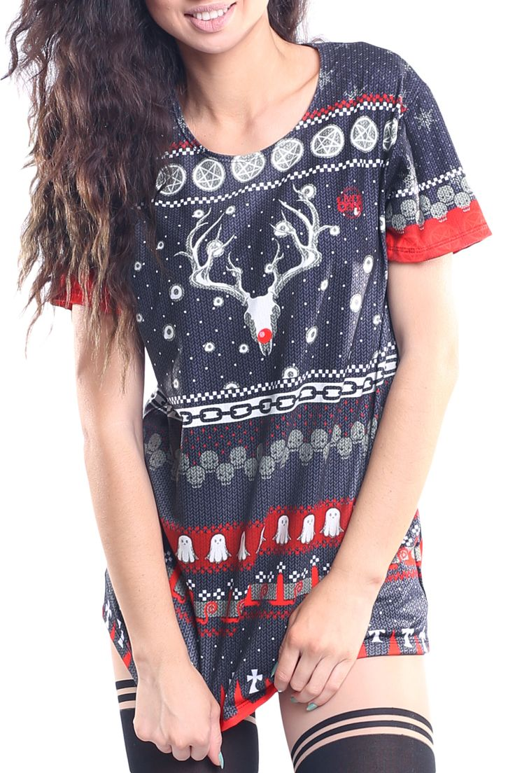Occult Ugly Christmas Tee - $44.00 AUD