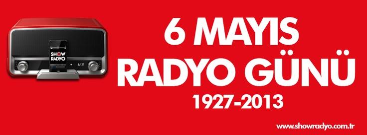 6 Mayıs Türkiye'de Radyo Yayıcılığının 68. Yıldönümü... Hepimize kutlu olsun...