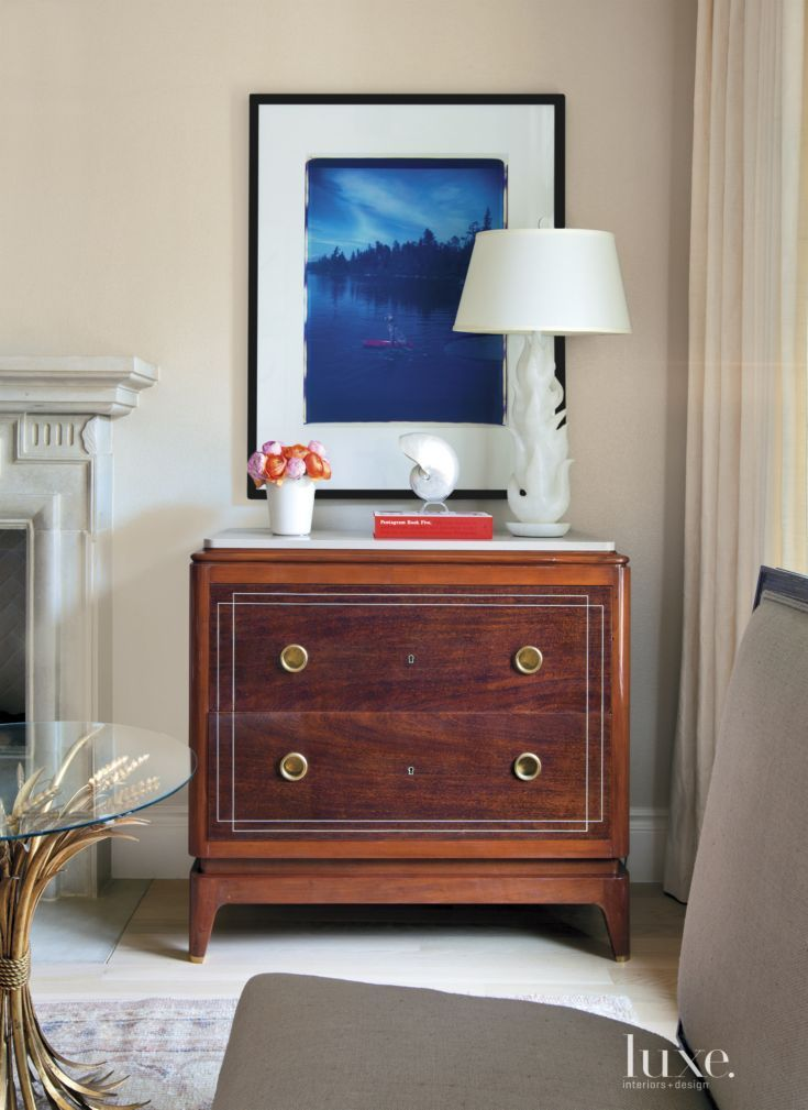 Contemporary Neutral Living Room Console · Bedroom Sitting AreasBedroom ArtMaster  ...