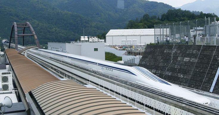 Japanese #maglevtrain is the fastest passenger train in the world has broken its own speed record (603 km/hr) today!  #japan #maglev #train #rail #railway