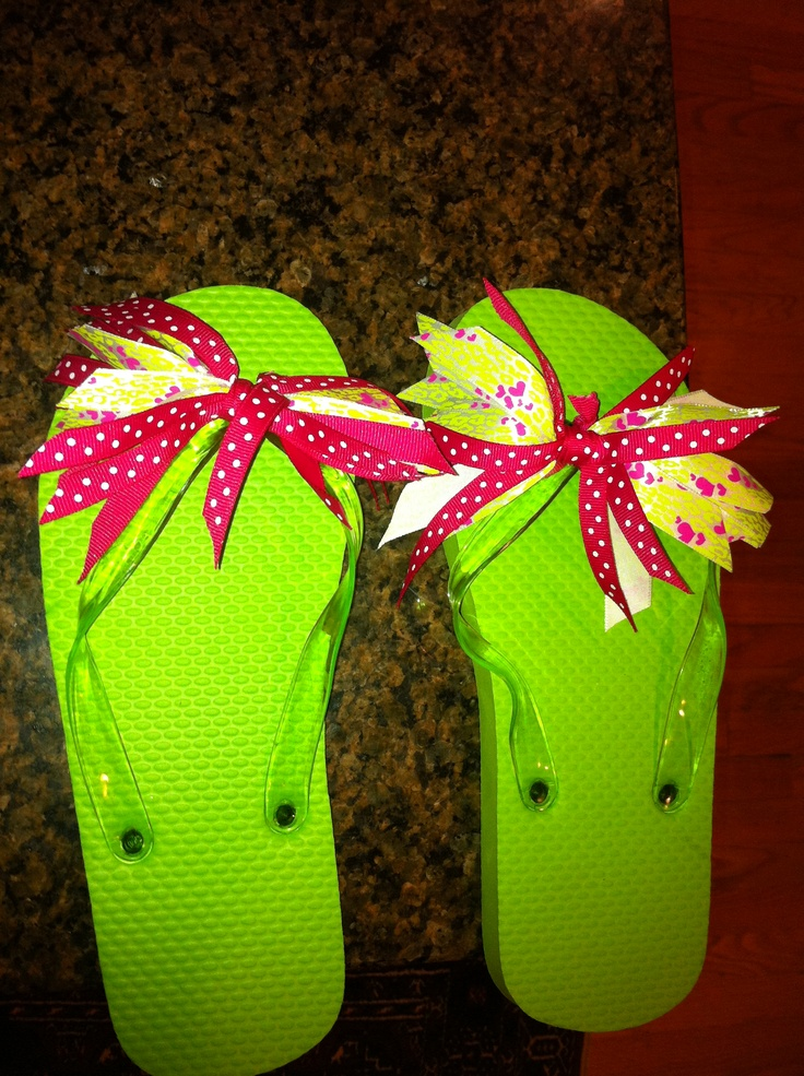 how to make flip flop fly swatter