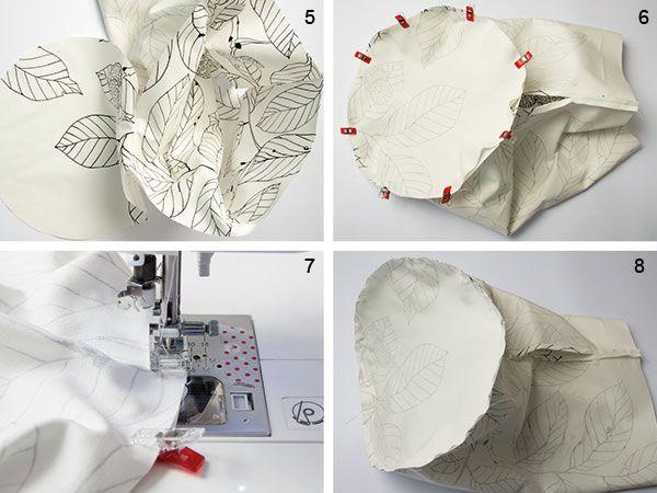 Tutoriales DIY: Cómo hacer un cesto para la ropa sucia vía DaWanda.com