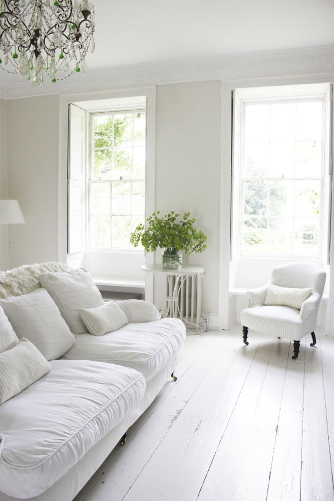 Nordic White Vintage Living Room White Interior All White Room French Country Decorating