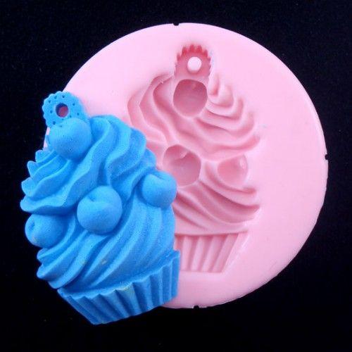 Cupcake Soap Mold.