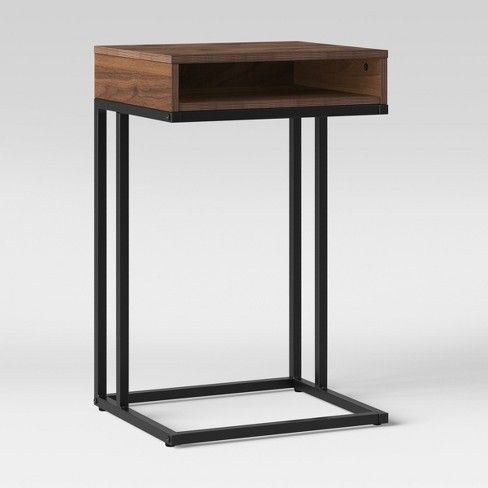 Loring Accent Table Walnut Brown Project 62 Accent Table