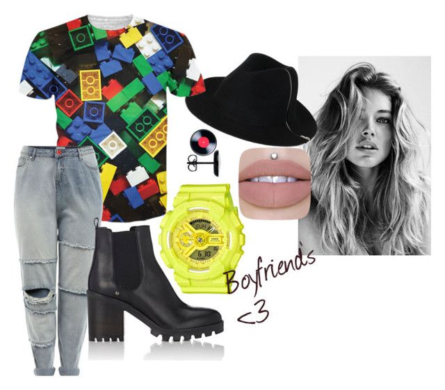 mine by ayozimhere on Polyvore featuring New Look, Barneys New York and G-Shock