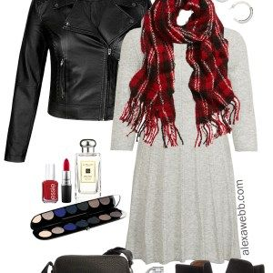 Plus Size Sweater Dress Outfits