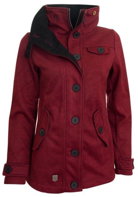 Woolshell Ladies´ Jacket Red - Je wool shell z vola? Spíš ne. Ať už je z čeho chce, ušetří vás mnoha woolgarit, když zapomenete deštník. Nepromokne, neprofuní. Navíc fest sluší, takže vám bude každý po wooli. Šedý, červený či rezatý, dlouhý nebo krátký. Ten kabát myslíme.
