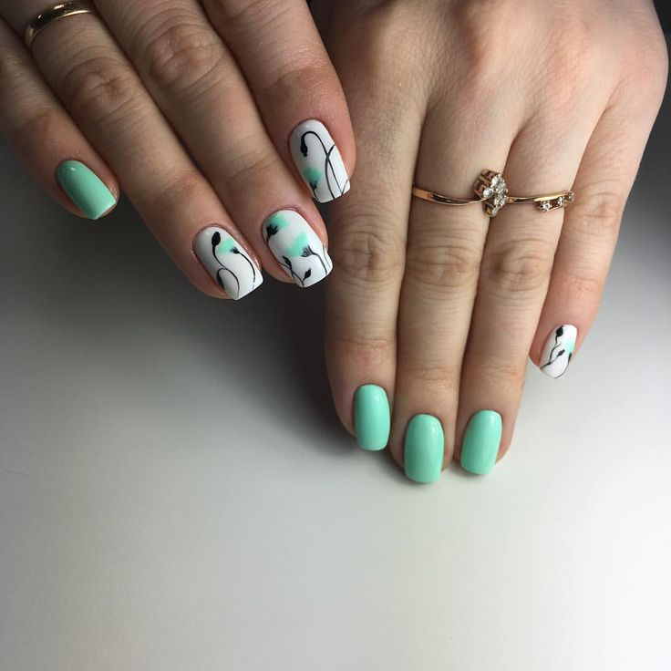 Best 90 Nail art images on Pinterest | Nail design, Nail decorations ...