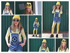 CaroS Fashion FUN and DIY: DIY - Minions Kostüm zum Film / Costume 2015