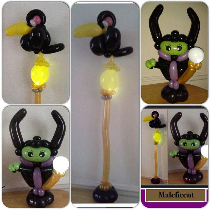 maleficent balloon designsballoon ideasmaleficent partyballoon centerpiecesballoon animalshalloween ideassculptures - Halloween Balloon Animals