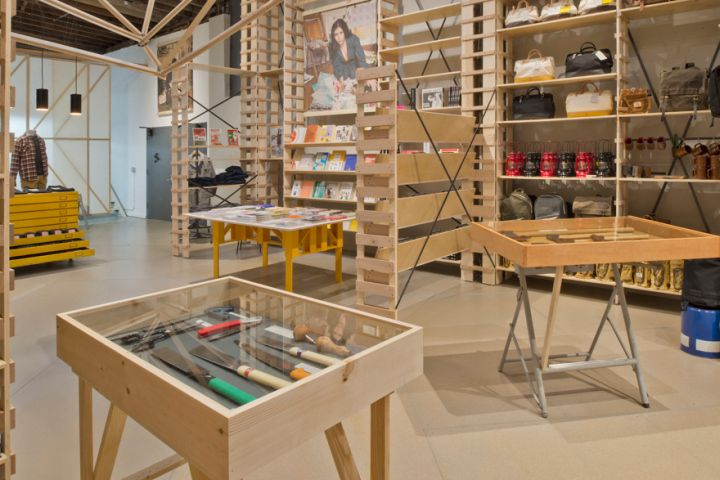 Hand-Eye Supply store by Laurence Sarrazin, New York City » Retail Design Blog