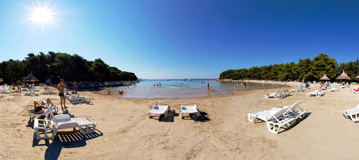 Pine Beach - All Inclusive Tourist Resort - Pakostane, Croatia