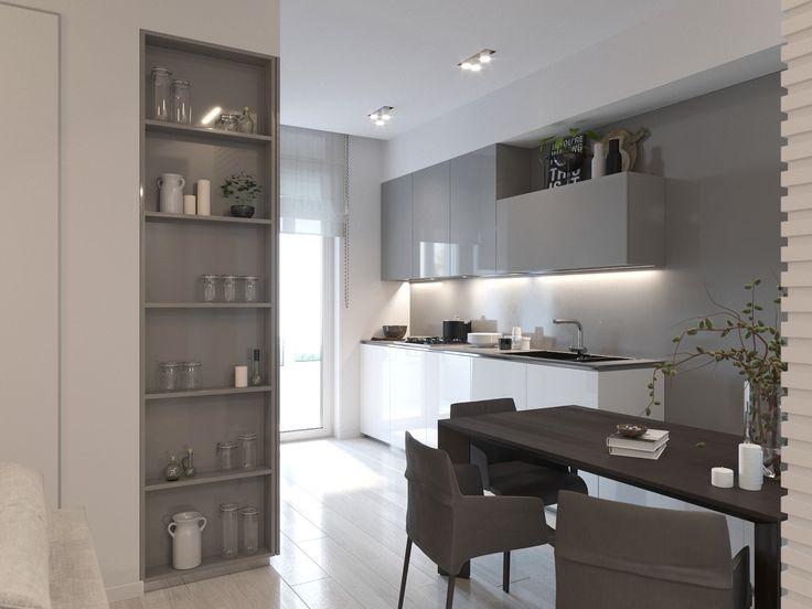 Простота, элегантность, стиль - это то, что никогда не выйдет из моды! Кухня в современном стиле - лаконичность прямых линий завораживает, LIKE, если согласны!