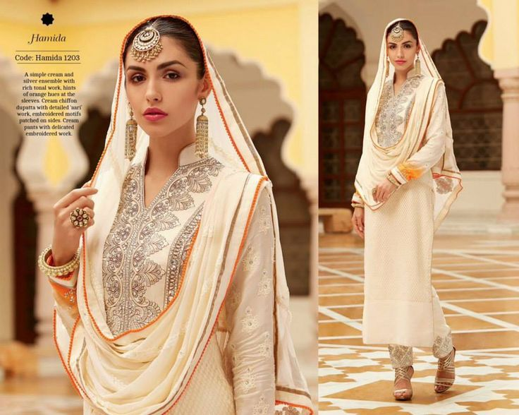 """""""Fabulous ethnic"""" <3 <3 Code: fabe kmcrm Price:6395/- Material: Semi-stitched/georgette/chiffon dupatta. For booking and further details pls call or whatsapp us at +919600639563 Happy shopping y'all :) Be Beautiful :)"""